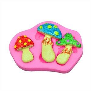 Silicone Mold - Mushrooms 3/4,5/3,5cm
