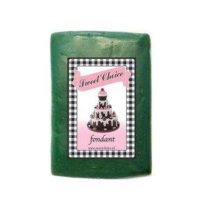Donker groene fondant 1kg (4x250g)