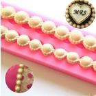 Perlen mit strass steinen 31x4cm 9/14mm