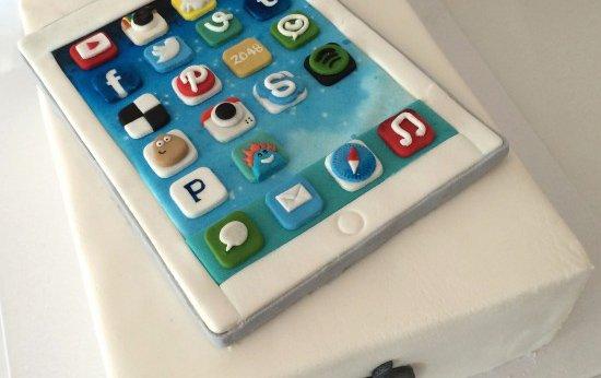 iPad taart maken voor de echte Apple fan!