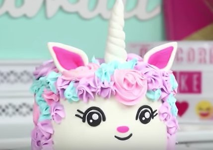 How to make a unicorn cake?