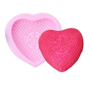 Silicone Mold - Frosted heart