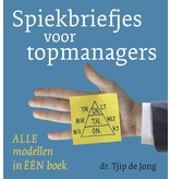 Spiekbriefjes voor topmanagers. Tjip de Jong