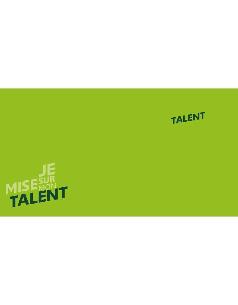 Talentenkaarten Toolbox 'Ik kies voor mijn Talent' Franstalig