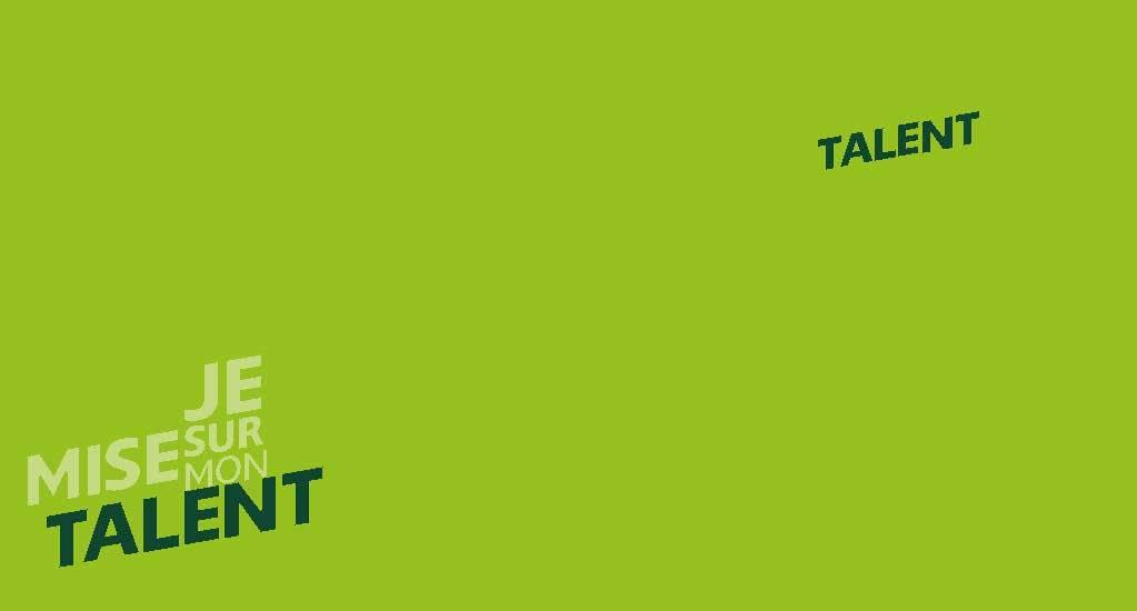 Talentcard of the toolbox 'Ik kies voor mijn Talent' in French