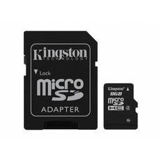 Kingston Micro SD 8GB + Adapter Class 4