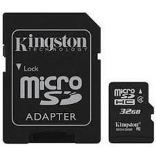 Kingston Micro SD 32GB + Adapter Class 4