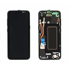 Samsung Galaxy S8 (G950F) Midnight Black LCD Service Pack / GH97-20457A