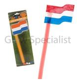 ORANGE GLOW STICK FLAG - 5 PIECES
