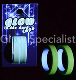 GLOW IN THE DARK PLAKBAND - 2 STUKS