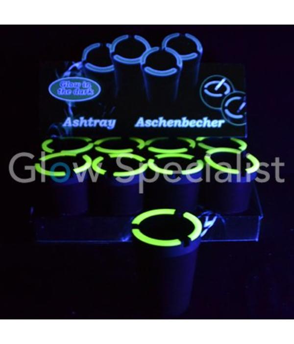 Glow in the dark ashtray