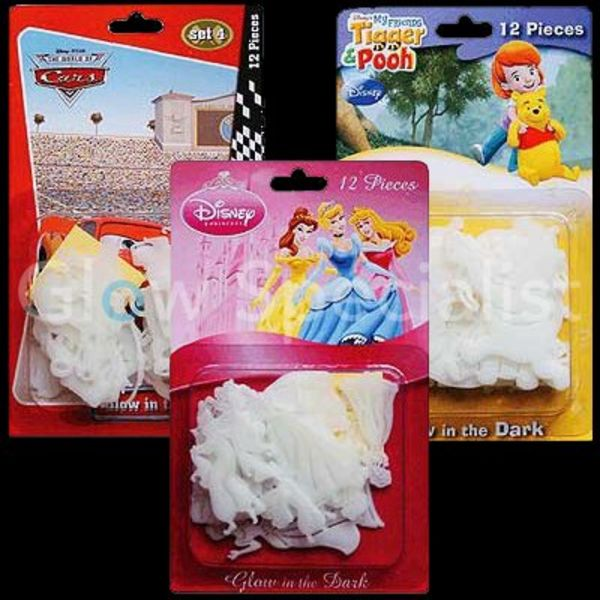 GLOW IN THE DARK DISNEY FIGUREN