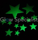 Glow in the dark - Stars - 60 pieces