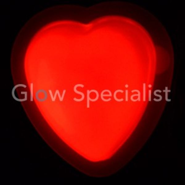 GLOW HEART - BADGE
