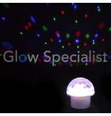 Party Fun Light MOON FLOWER DISCO LAMP
