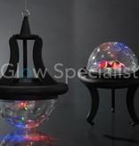 DISCOLAMP MET 4X LED - MULTIFUNCTIONEEL