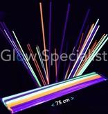 UV / Blacklight Straws XL - 75 cm - 50 pieces