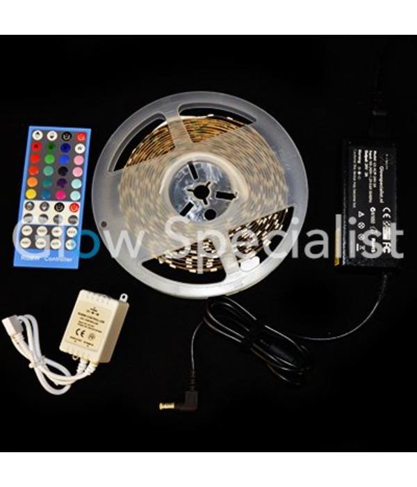 - Glow Specialist UV / BLACKLIGHT LED STRIP - RGB