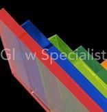 UV reactive Neon Acrylic sheet - 51 x 34 cm