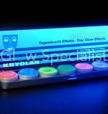 - Kryolan Kryolan, Aquacolor UV-dayglow Palette