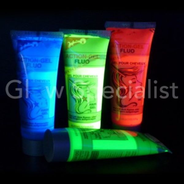UV hair gel