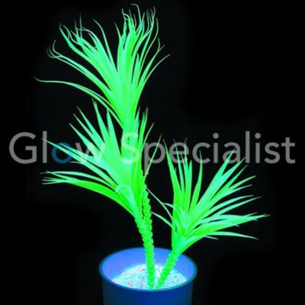 UV-REACTIVE YUCCA PALMTREE - 90 CM GREEN