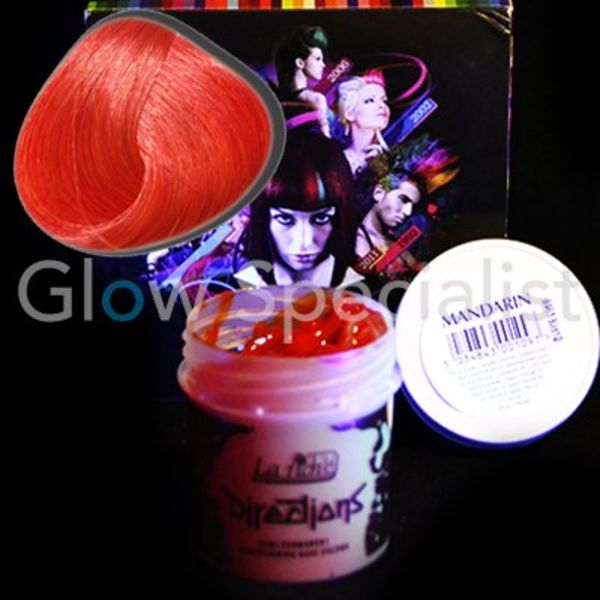 UV Reactive Semi-permanent Hair Color