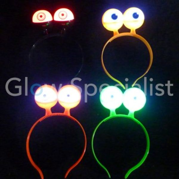 LED HEAD BOPPER WITH FLASHING EYES