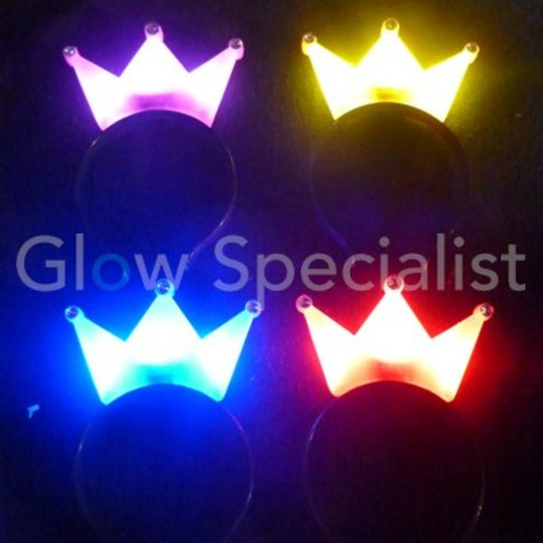 LED DIADEEM MET KROON
