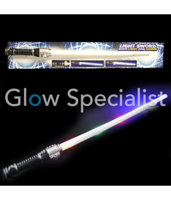 LED SWORD WITH LIGHT AND SOUND