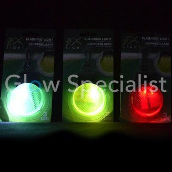 LED KNIPPERLAMP MET 3 LICHTEFFECTEN - per stuk