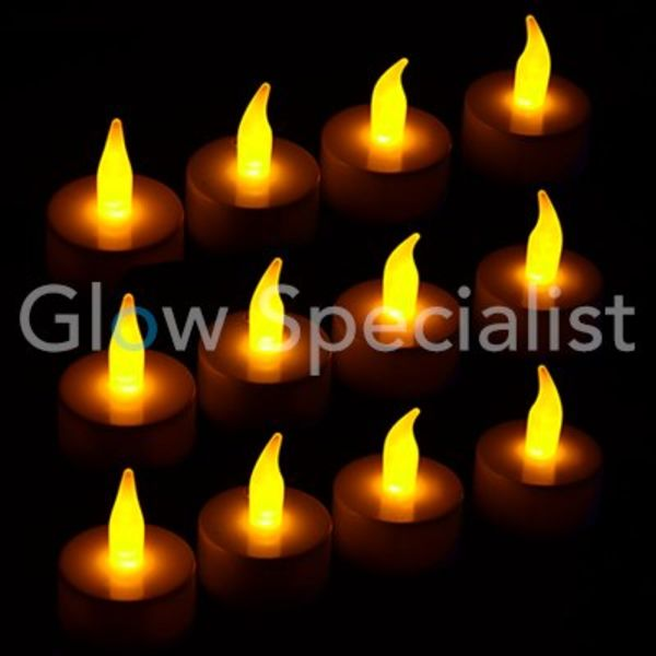 LED TEA LIGHTS - 12 pieces