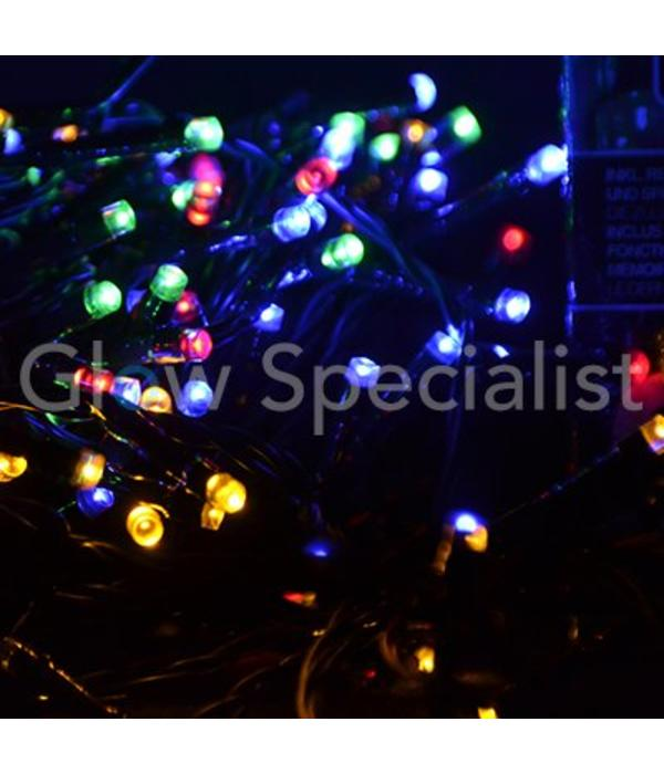 LED CHRISTMAS LIGHTS MULTI COLOR - 240 LIGHTS WITH LIGHT 8 FEATURES
