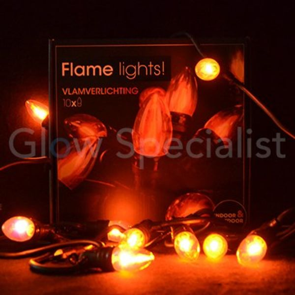 FLAME LIGHTS - 10 LIGHTS