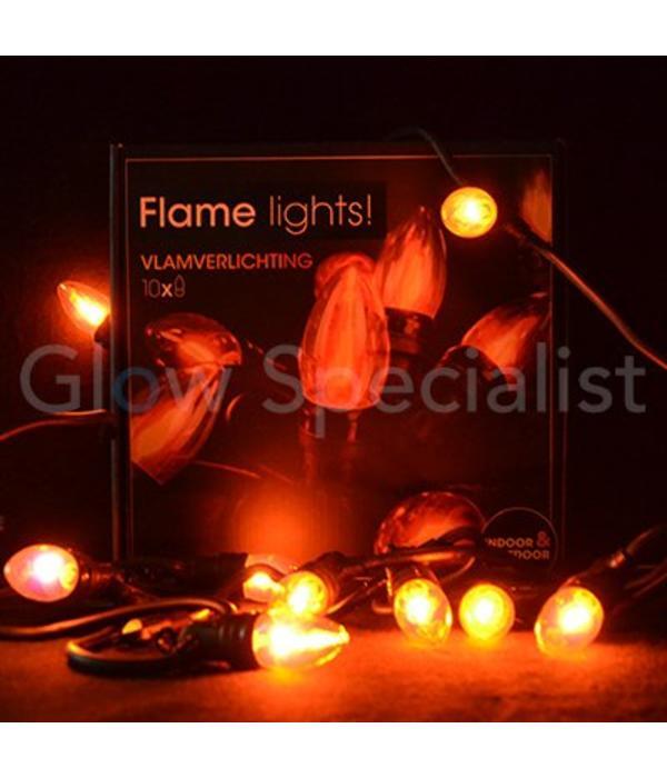 VLAMVERLICHTING - 10 LAMPJES - Kopp je bij Glow Specialist - Glow ...