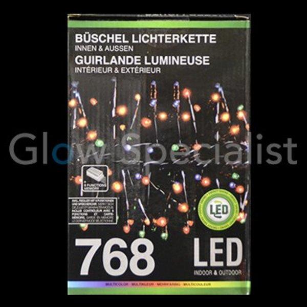 LED CLUSTER LIGHTING - 768 LIGHTS - MULTI COLOR