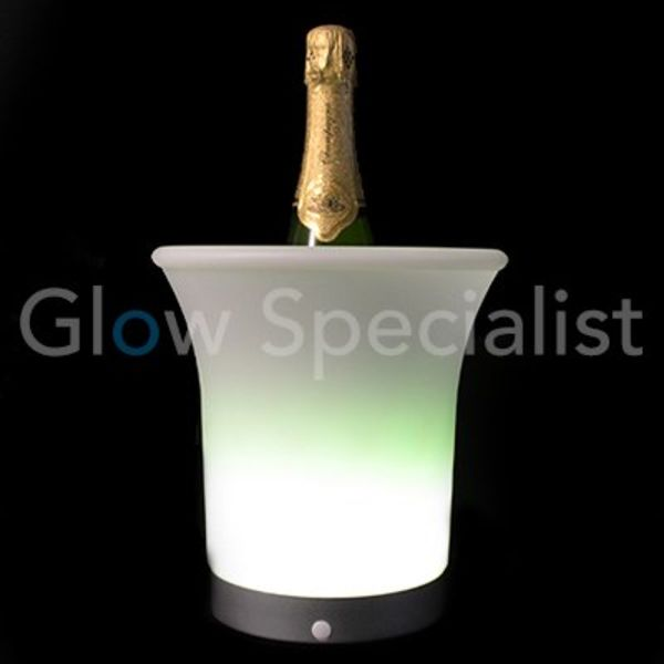LED Champagne cooler