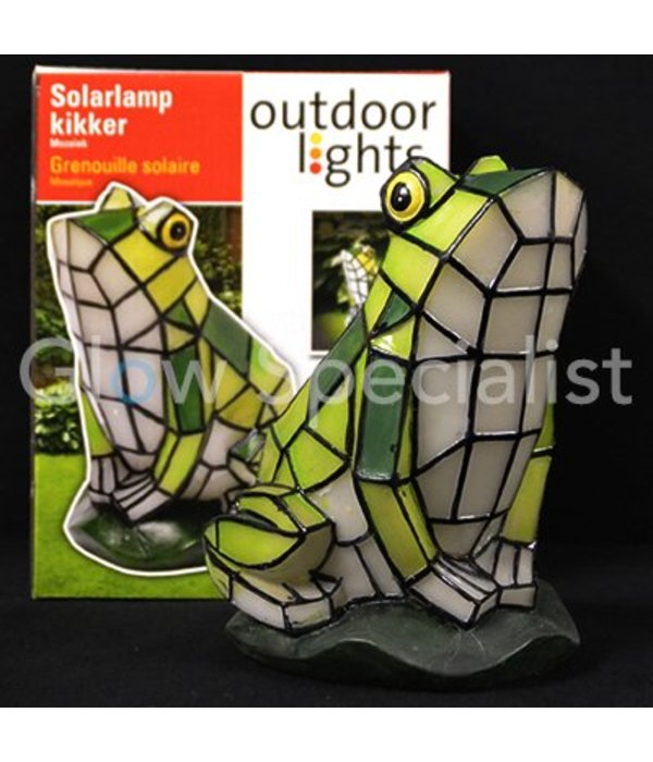 SOLAR MOZAIEK LAMP - KIKKER