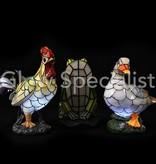 Solar mosaic lamp Duck