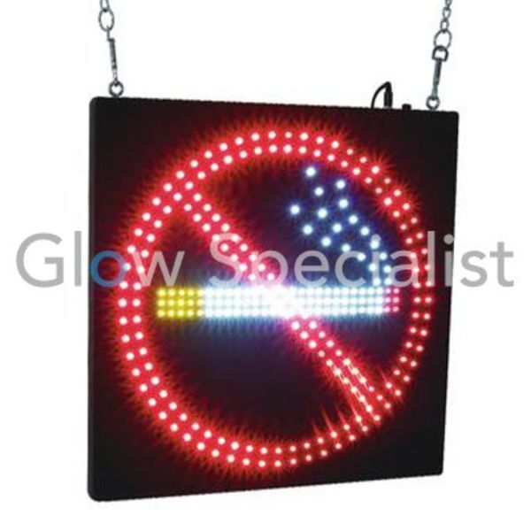 Eurolite LED Sign - NO SMOKING