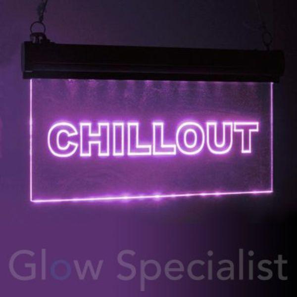 Eurolite LED Sign RGB - CHILLOUT