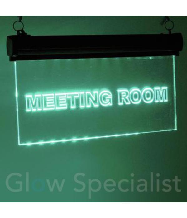 - Eurolite EUROLITE LED SIGN -  MEETING ROOM - RGB