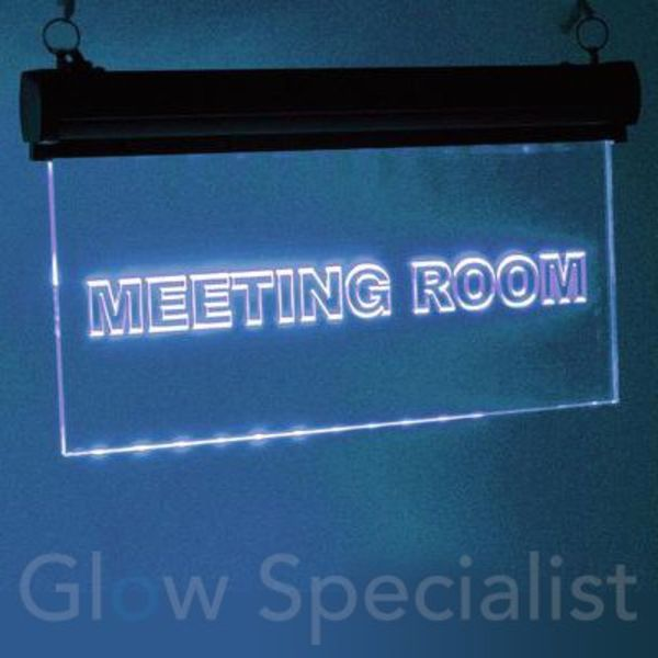 Eurolite LED Sign RGB - MEETING ROOM