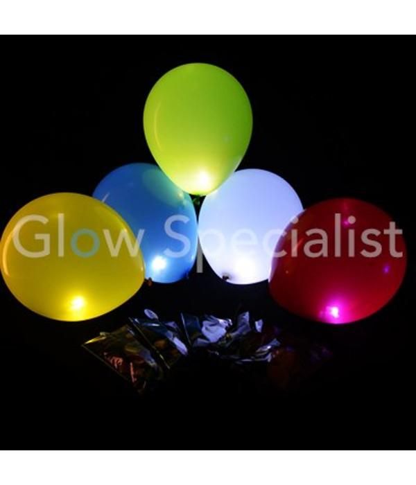LED BALLONNEN - LIGHT UP BALLOONS - 5 STUKS