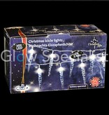 WHITE LED Christmas lights - 20 ICICLES