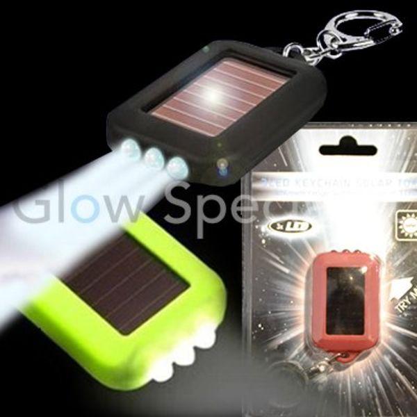 SOLAR / LED SLEUTELHANGER