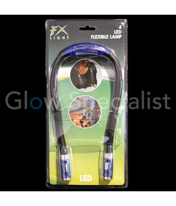 LED  Lamp with flexible stem