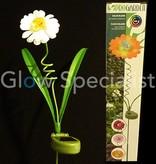 LED Solar Flower