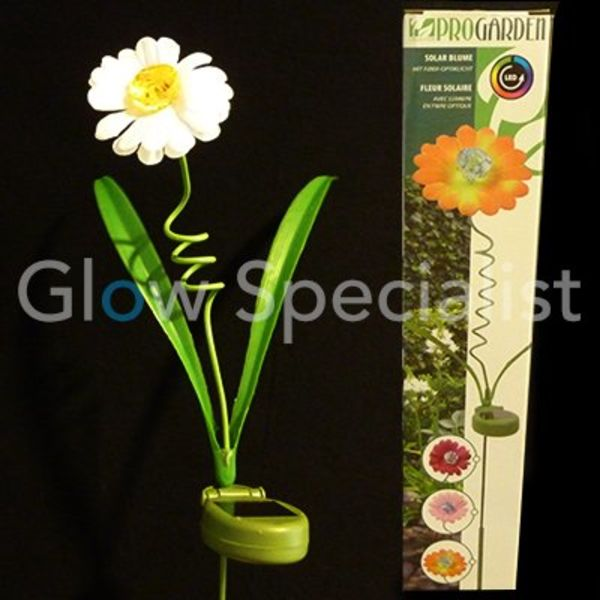 LED Solar Flower - 3 pieces