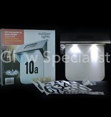 LED House Number Plate Solar powered